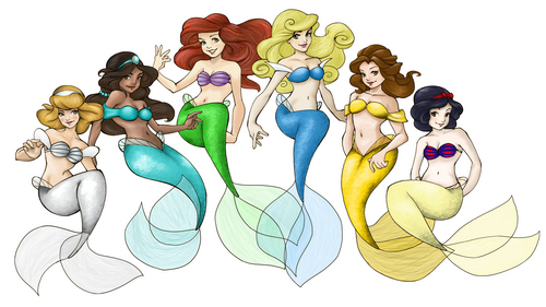 disney sirenas