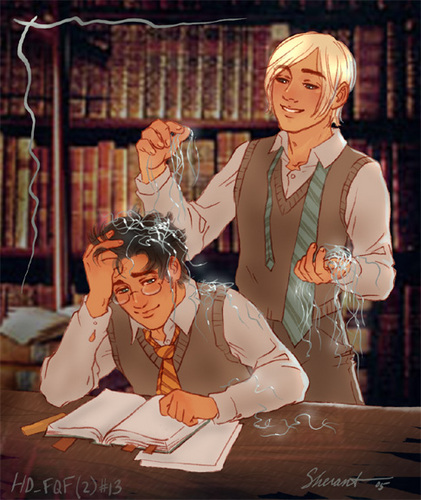 Drarry - Фан Art (Slash)