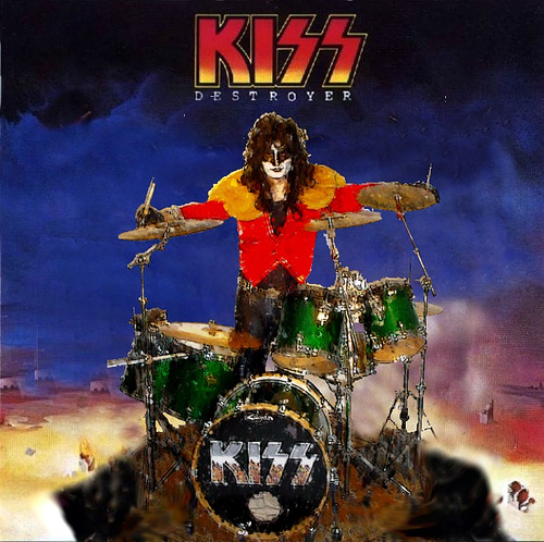 Eric Carr - Destroyer Album Cover