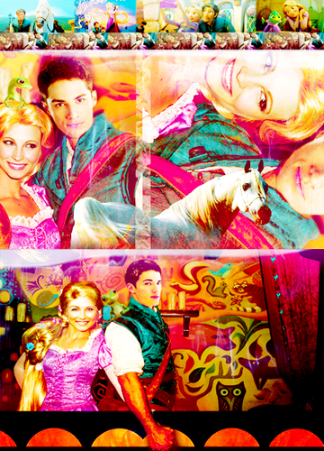 Forwood as Disney's Raiponce