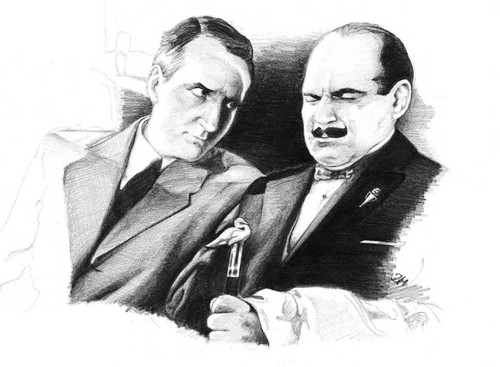 Hastings and Poirot