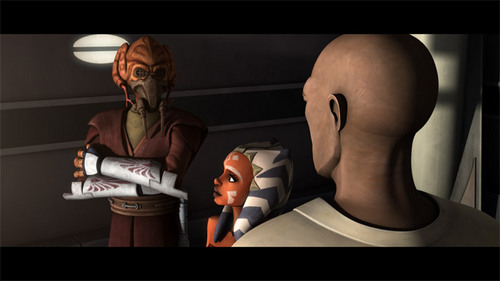Ahsoka,Mace,and Plo