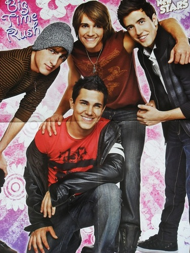 Big Time Rush Posters