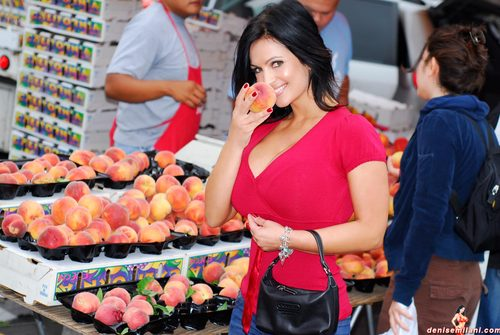 Denise Milani | At The Market