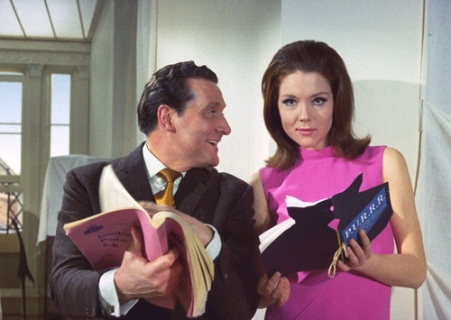 Emma Peel & John corcel, steed