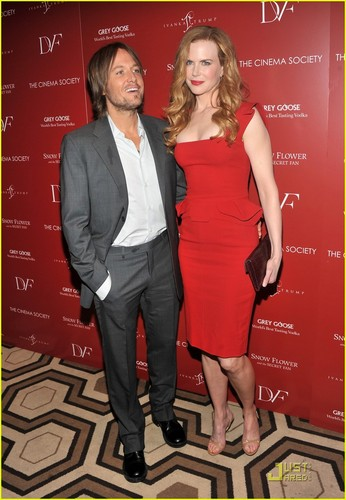 Nicole Kidman & Keith Urban: 'Snow Flower' Screening!