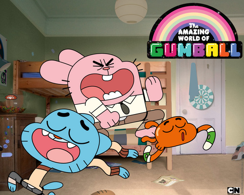 Richard, Gumball and Darwin