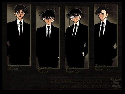 Kaito And Conan Kaitou Kid Wallpaper 11167112 Fanpop