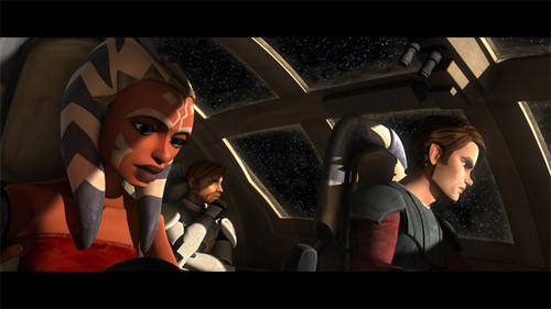 Ahsoka,Obi-wan,and Anakin