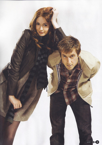 Amy Pond & Rory Williams