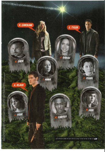 Caroline in the Comic Con edition of TV Guide magazine!