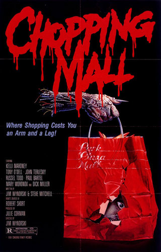 Chopping Mall poster