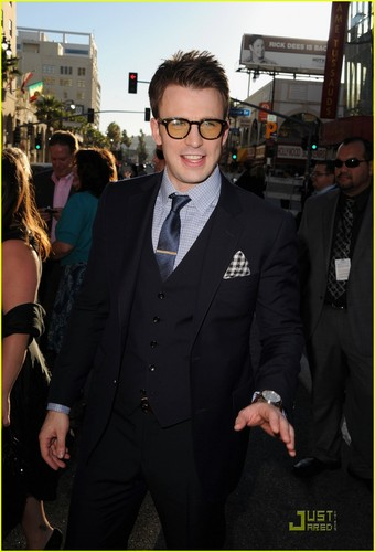 Chris Evans Captain America' Premiere!
