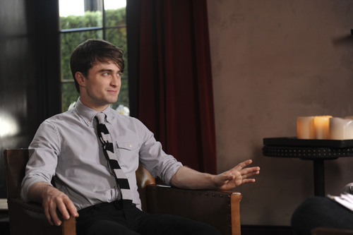 Daniel radcliffe - Interview at the Gramercy Park Hotel