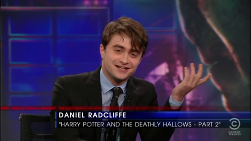 Daniel radcliffe - The Daily Show with Jon Stewart (07.18.11)