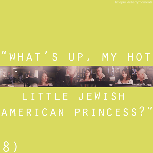 Puck and Rachel: One Hot Jew Couple ♥