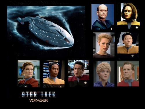 Voyager cast wallpaper