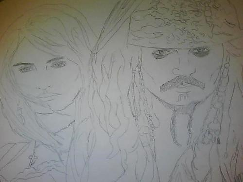 WIP Jack and angelica by me NannaBach