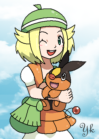 Bianca and Tepig