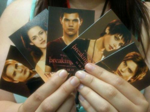 Breaking Dawn merchandise at Comic Con!