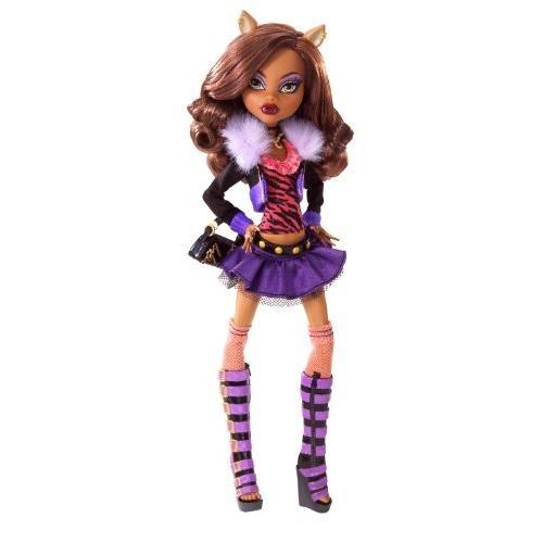 Clawdeen lupo Monster High Doll