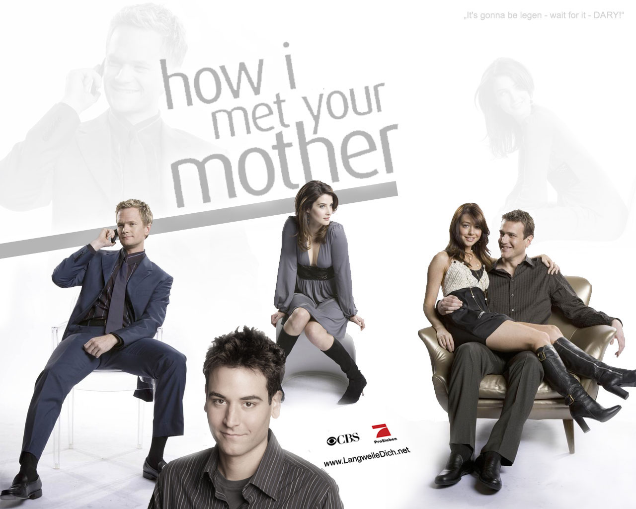 How I Met Your Mother How I Met Your Mother Wallpaper 23910961