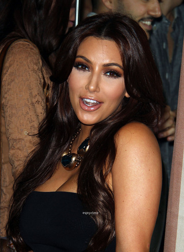 Kim Kardashian: Noon By Noor Fashion Collection Launch in West Hollywood, July 20