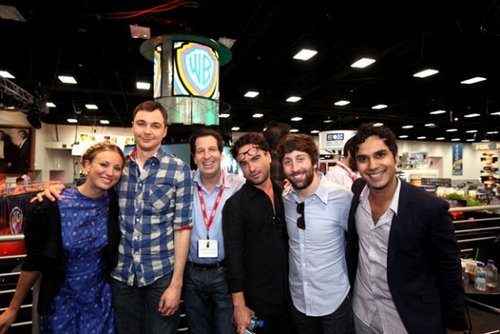 The Big Bang Theory Signing - Comic-Con 2011