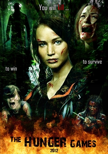 the hunger games poster UNOFFICIAL