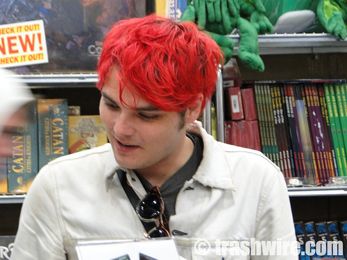Gerard way @ Comic-con 2011