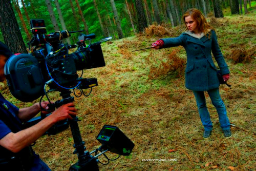 Hermione- Behind the Scenes- DH Part 1