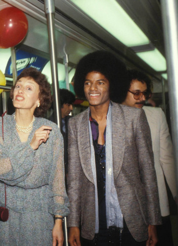 Michael on the subway