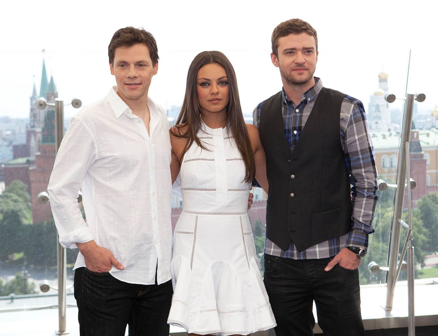 Mila Kunis : Friends with Benefits Photocall in Moscow, July 27