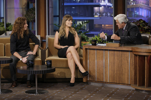 Olivia Wilde on the Tonight Show With Jay Leno