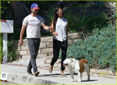 Shia & Karolyn out in Hollywood