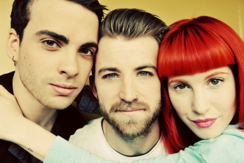 The final photo from Lindsey Byrne's photoshoot with Paramore.