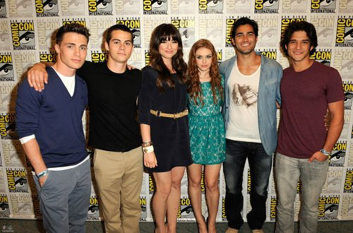 Tyler at Comic Con 2011 for Teen loup