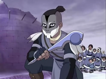 sokka the BoomerAang warrior!