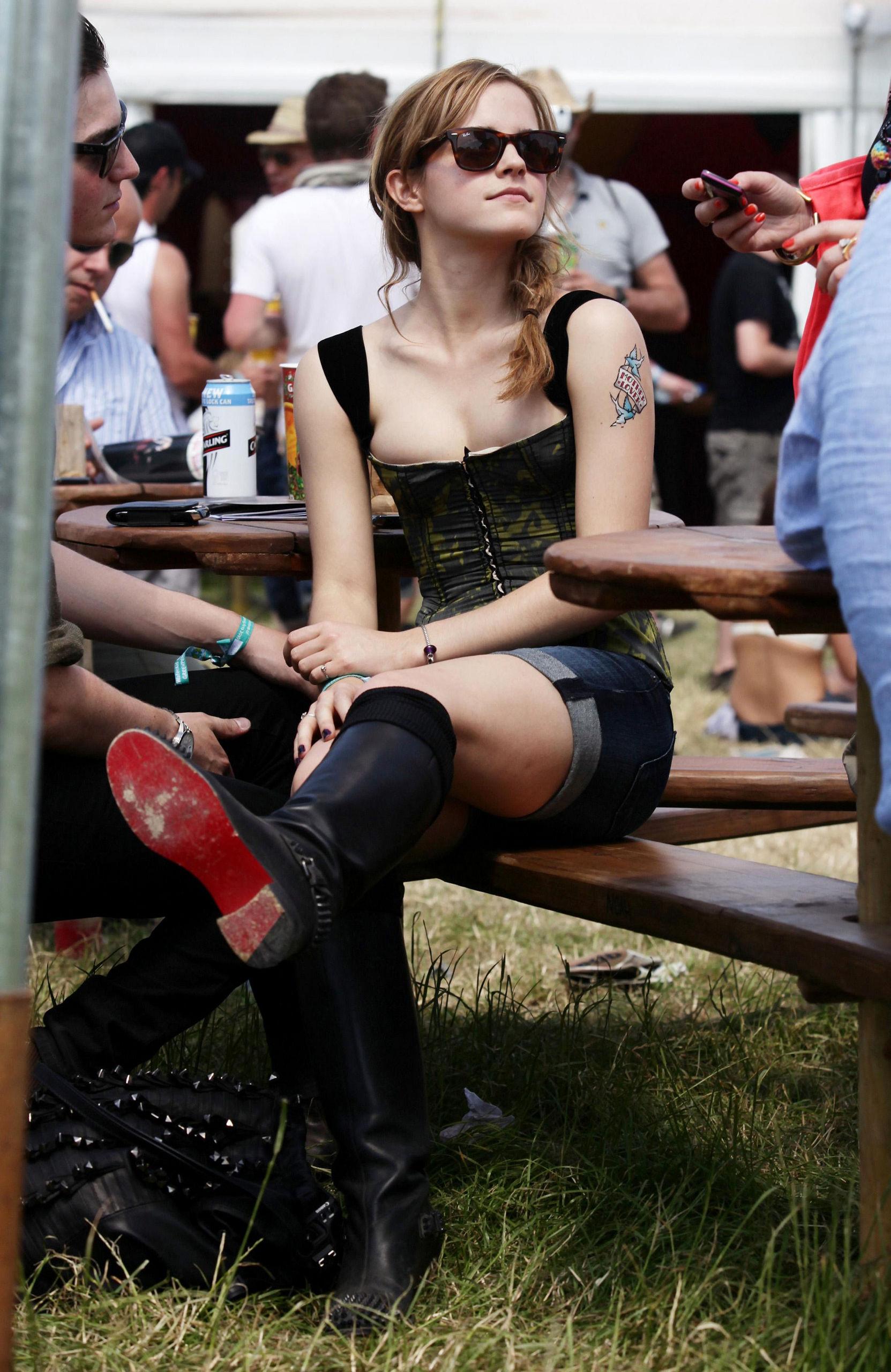 2010 Glastonbury Music Festival in Somerset, England (25
