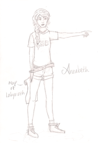 Annabeth Chase: In the Labyrinth