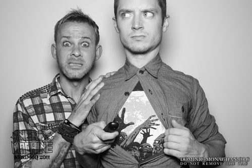 Dominic Monaghan at Nerd HQ