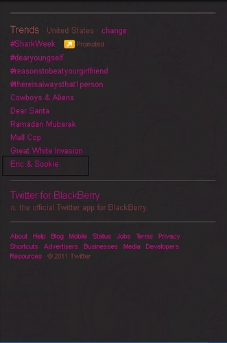 Eric and Sookie trending <3