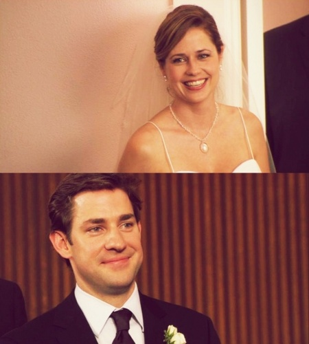 Jim and Pam ♥