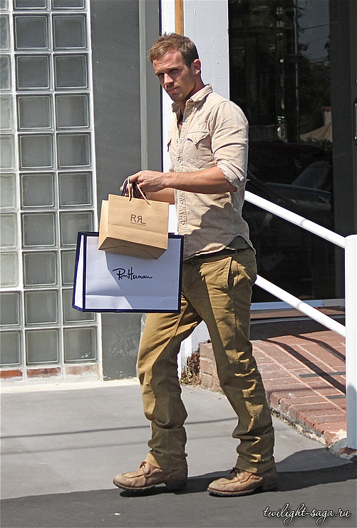 New candids of Cam Gigandet in Los Angeles.