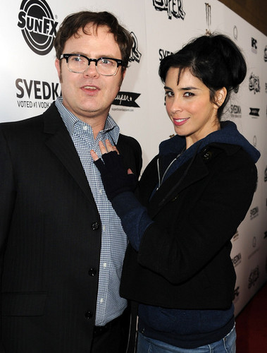 Rainn and Sarah Silverman