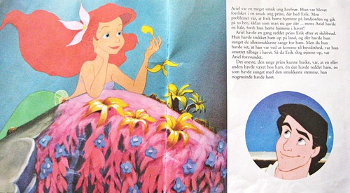 Walt disney buku - The Little Mermaid