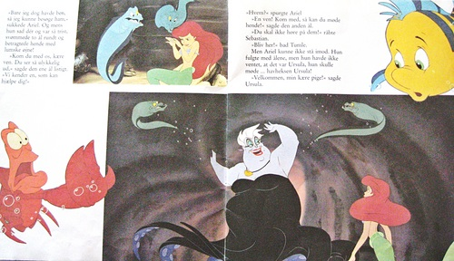 Walt Disney boeken - The Little Mermaid
