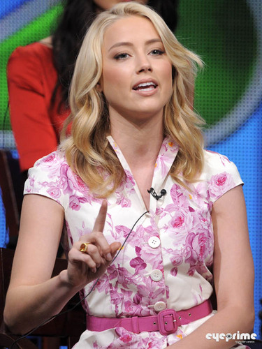 Amber Heard: 2011 Summer TCA Tour