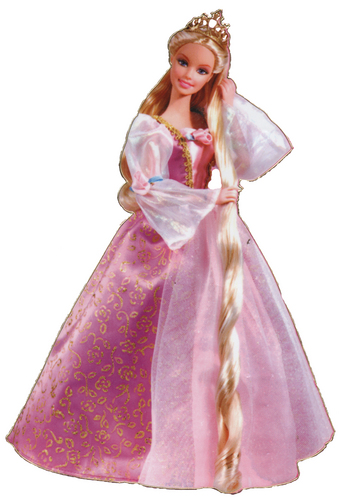 Full view of Rapunzel