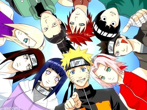 NARUTO -ナルト- group picture